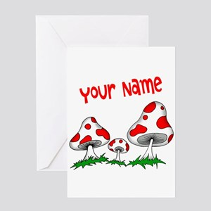 Shrooms Greeting Cards