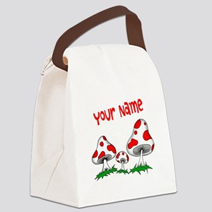 Shrooms Canvas Lunch Bag