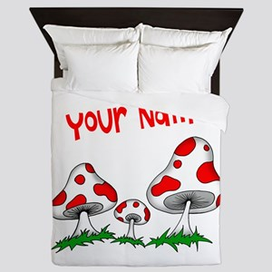 Shrooms Queen Duvet