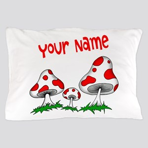 Shrooms Pillow Case