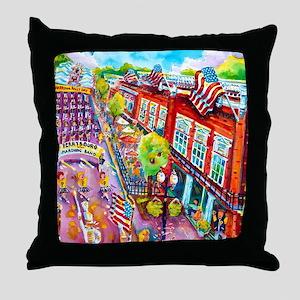 A Perrysburg Parade Throw Pillow