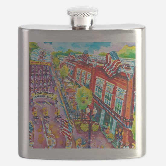 A Perrysburg Parade Flask
