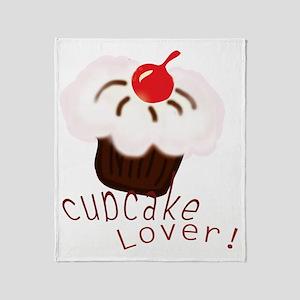 cupcake01_lover2 Throw Blanket