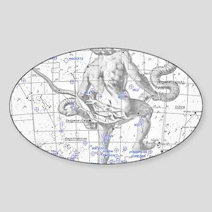 ophiuchus copy Sticker (Oval)