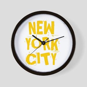 NYC_neighborhoods Wall Clock