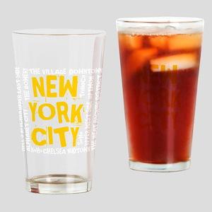 NYC_neighborhoods Drinking Glass