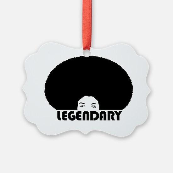 afro_legendary_white_shirt Ornament