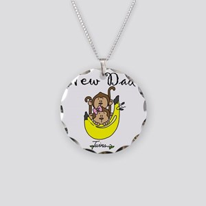 NEWDADOFTWINS Necklace Circle Charm