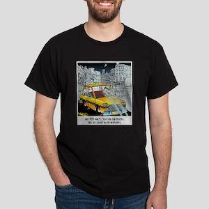 Deer Make Bad Taxi Drivers Dark T-Shirt