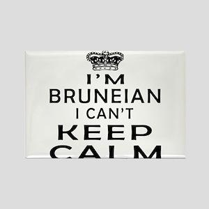 I Am Bruneian I Can Not Keep Calm Rectangle Magnet