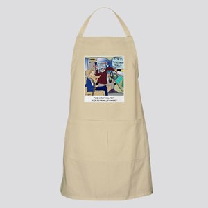 Call 911 or Parking Management Apron