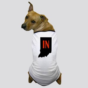 IN in Indiana Dog T-Shirt
