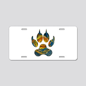 SUN MARK Aluminum License Plate