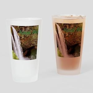 Kauai_Aloha Drinking Glass