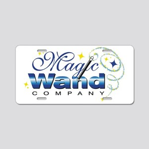 magicwand_rgb Aluminum License Plate