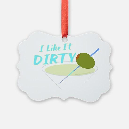 2-like-dirty_trans Ornament