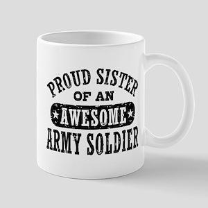 Proud Army Sister Mug