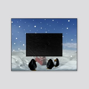 Sleeping with the Penguins Picture Frame