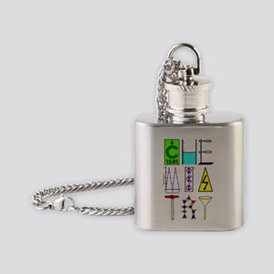 CHEMISTRY images Flask Necklace