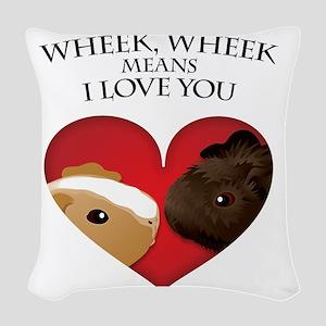 wheekwheek Woven Throw Pillow