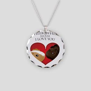 wheekwheek Necklace Circle Charm