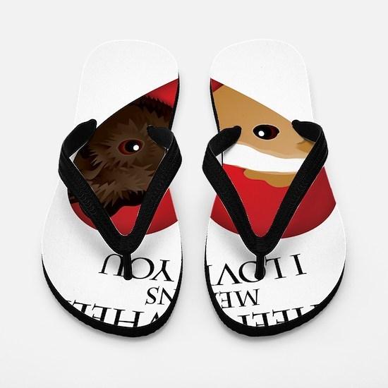 wheekwheek Flip Flops