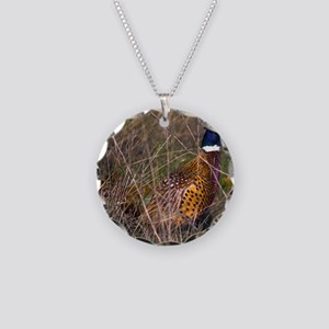 (14) Pheasant  407 Necklace Circle Charm