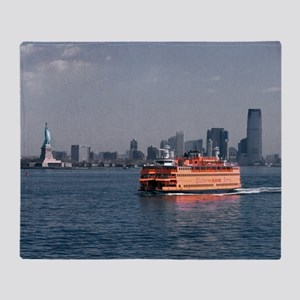 (2) Staten Island Ferry Throw Blanket