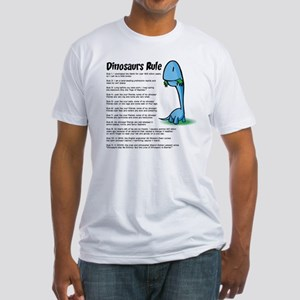 Dinosaur5 Fitted T-Shirt