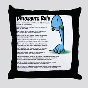 Dinosaur5 Throw Pillow