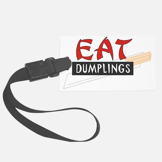 C-213 (eat dumplings) Luggage Tag
