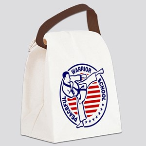 Large TPWS Logo Canvas Lunch Bag