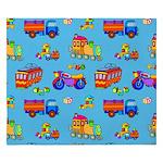 Toys Trucks & Trains King Duvet