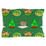 Christmas Trees, Cookies Pillow Case