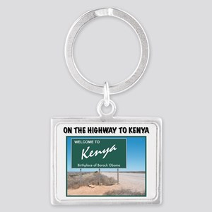 kenya Landscape Keychain