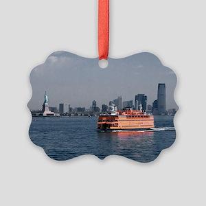 (11) Staten Island Ferry Picture Ornament