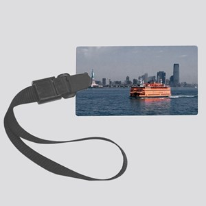 (11) Staten Island Ferry Large Luggage Tag