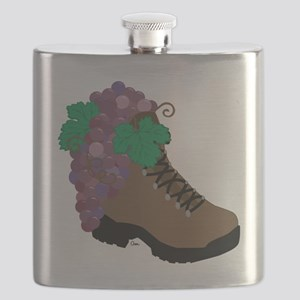 Wine Boot-round Flask