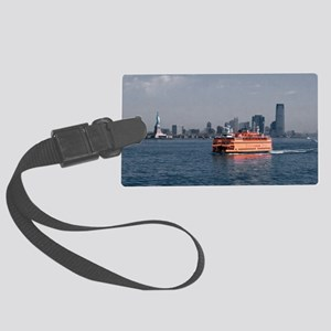 (6) Staten Island Ferry Large Luggage Tag