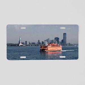 (6) Staten Island Ferry Aluminum License Plate