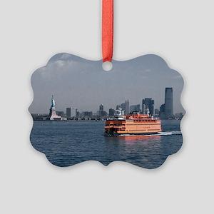 (6) Staten Island Ferry Picture Ornament