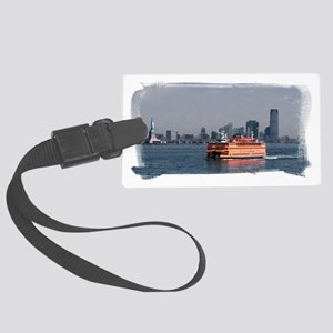 (16) Staten Island Ferry Large Luggage Tag