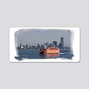 (16) Staten Island Ferry Aluminum License Plate