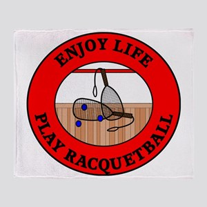 racquetball2 Throw Blanket
