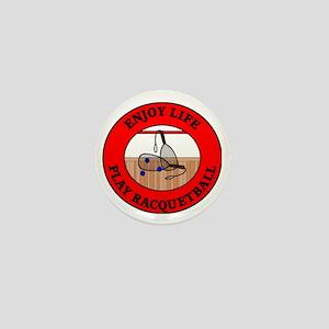 racquetball2 Mini Button