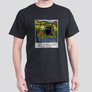 Horse Got in to GMO Hay Dark T-Shirt