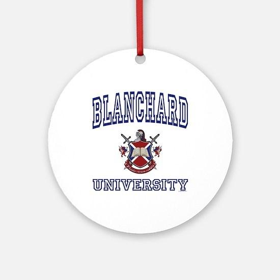 BLANCHARD University Ornament (Round)