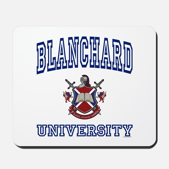 BLANCHARD University Mousepad
