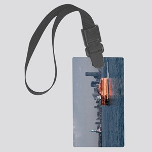 (9) Staten Island Ferry Large Luggage Tag