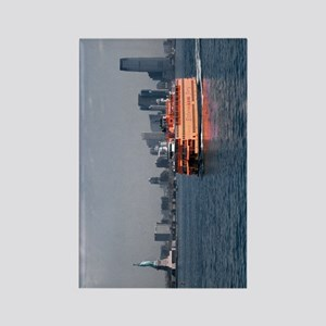 (9) Staten Island Ferry Rectangle Magnet